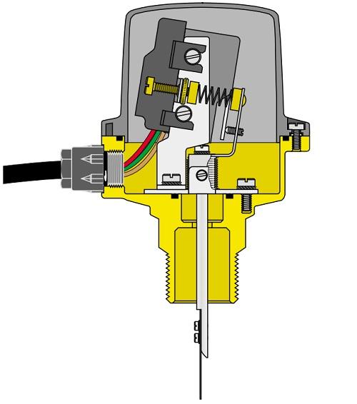 Конструктивные характеристики датчик потока 626600
