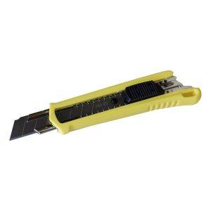 Нож с сегм. лезвием 18мм, пластик корпус