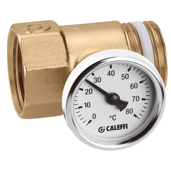 Фитинг с термометром CALEFFI 392