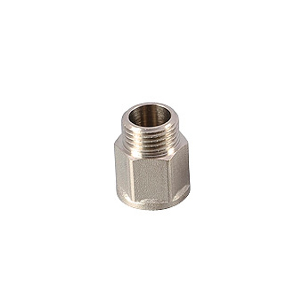 "Удлинитель 1/2"" х 15 мм. LAVITA никель (500/50)"