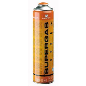 Баллон газовый КЕМPER 575 SUPERGAS(резьб бал 600мл Бутан пропан темп 1900С)