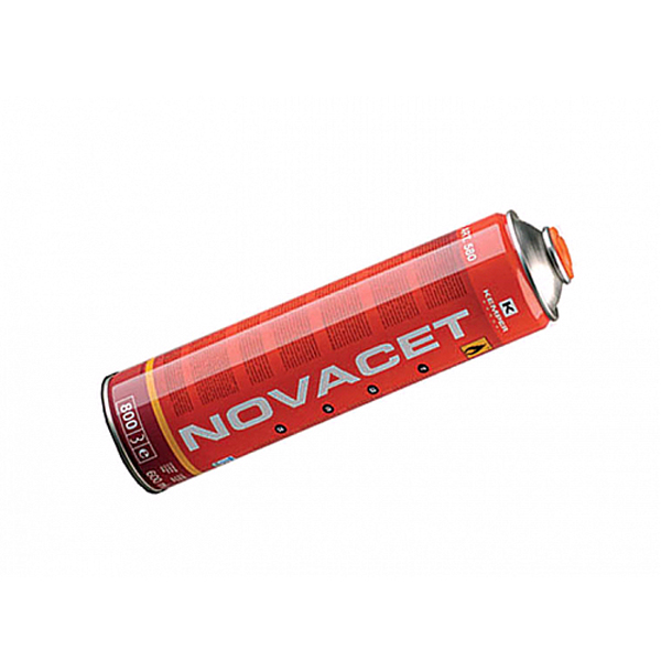 Баллон с газом Kemper 580 NOVACET(резьб.бал, 600 мл, Бутан-Пропад-Пропан, темп 2200 С)